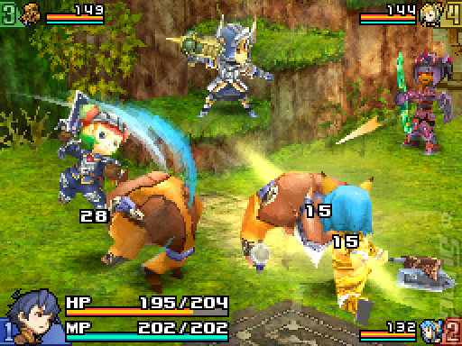 Final Fantasy Crystal Chronicles: Echoes of Time - Wii Screen