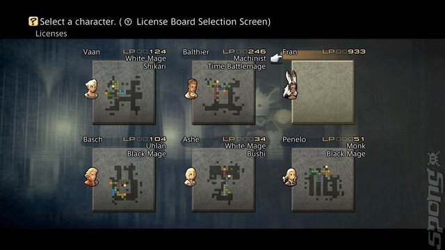 FINAL FANTASY XII: The Zodiac Age - Switch Screen