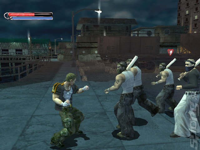 Final Fight: Streetwise - Xbox Screen
