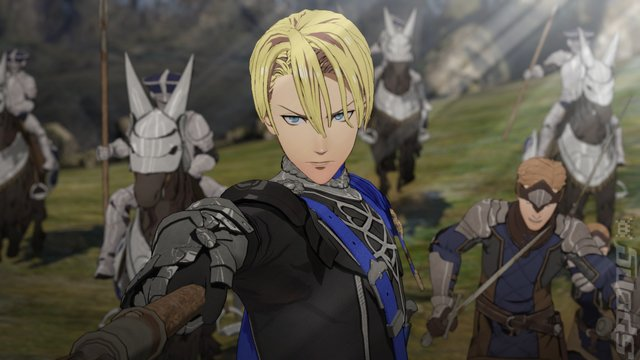 Fire Emblem: Three Houses - Switch Screen