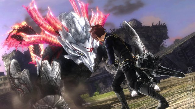 God Eater 2: Rage Burst - PC Screen