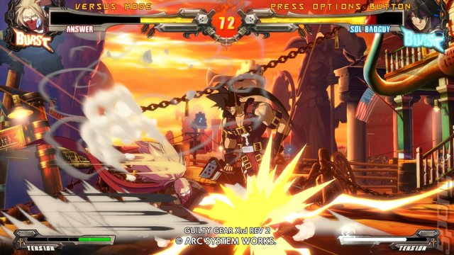GUILTY GEAR Xrd REV 2 - PS4 Screen