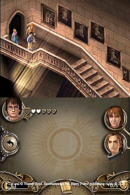 Harry Potter and the Goblet of Fire - DS/DSi Screen