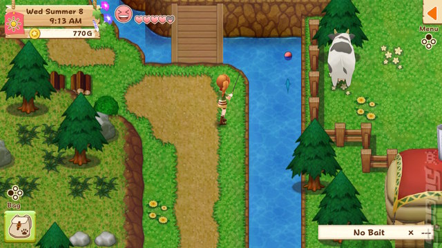 Harvest Moon: Light Of Hope - Switch Screen