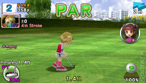Everybody's Golf 2 - PSP Screen