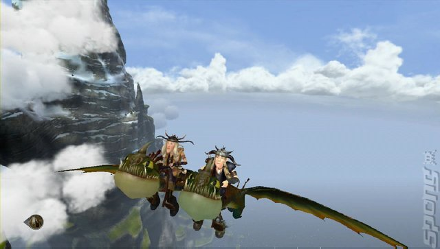 How to Train Your Dragon 2 - Wii U Screen
