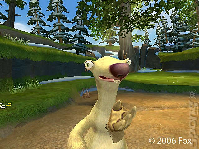 Ice Age 2: The Meltdown - PC Screen