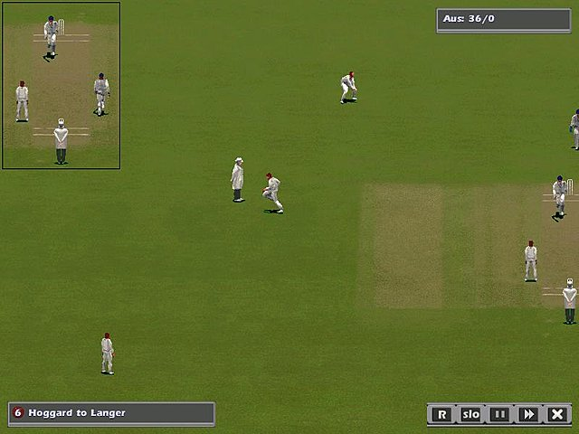 International Cricket Captain: The Ashes 2005 - PC Screen