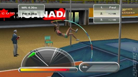 International Athletics - Wii Screen