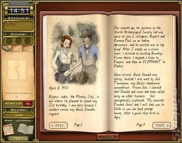 Jewel Quest Mysteries: Trail of the Midnight Heart - PC Screen