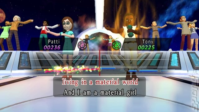 Karaoke Joysound - Wii Screen