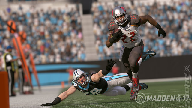 Madden NFL 17 - PS3 Screen
