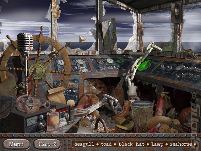 Margrave Mysteries: The Lost Ship - PC Screen