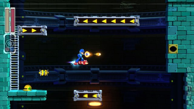 Mega Man 11 - Switch Screen