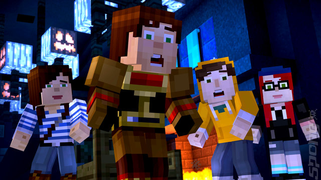 Minecraft Story Mode: The Complete Adventure - Xbox 360 Screen
