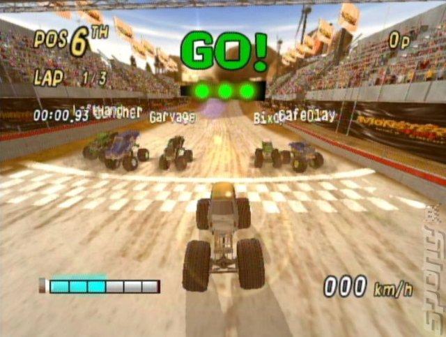 Monster 4X4 World Circuit - Wii Screen