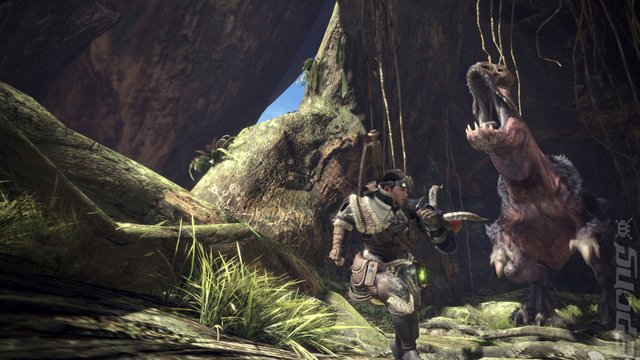 Monster Hunter World - PS4 Screen