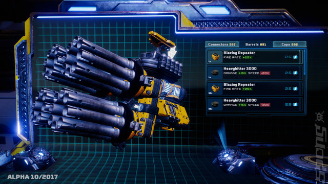 Mothergunship Editorial image