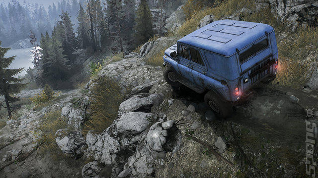 Mud Runner: A Spintires Game - PC Screen