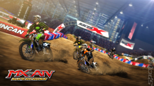 MX vs. ATV: Supercross - PC Screen