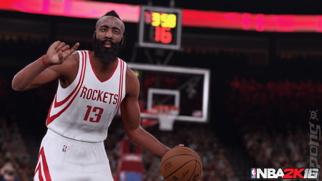 NBA 2K16 - PS3 Screen