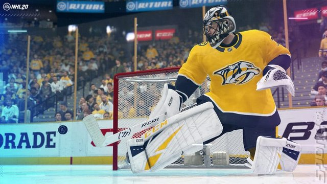 NHL 20 - PS4 Screen