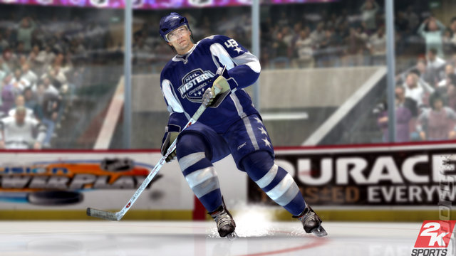 NHL 2K8 - Xbox 360 Screen
