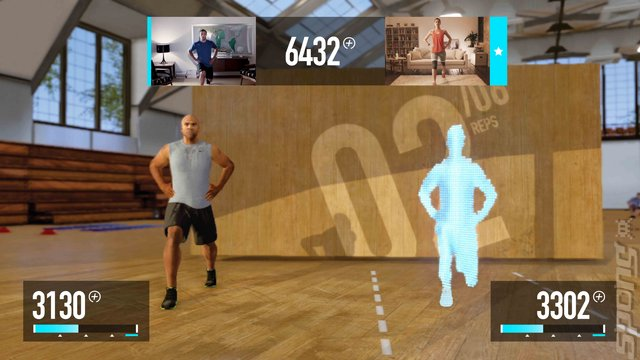 Nike+: Kinect Training - Xbox 360 Screen