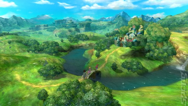 Ni No Kuni: The Wrath of the White Witch - PS4 Screen