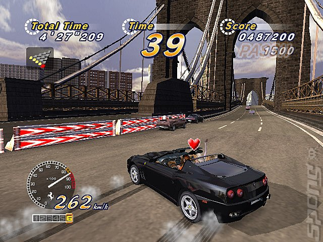 Outrun 2006: Coast 2 Coast - Xbox Screen