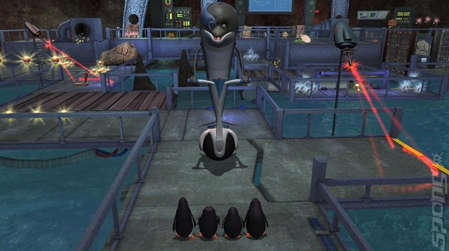 Penguins of Madagascar: Dr. Blowhole Returns Again - PS3 Screen