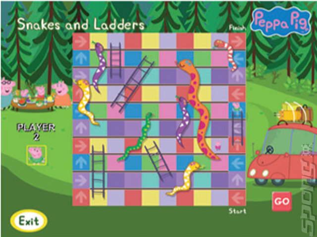Peppa Pig: Puddles of Fun - PC Screen