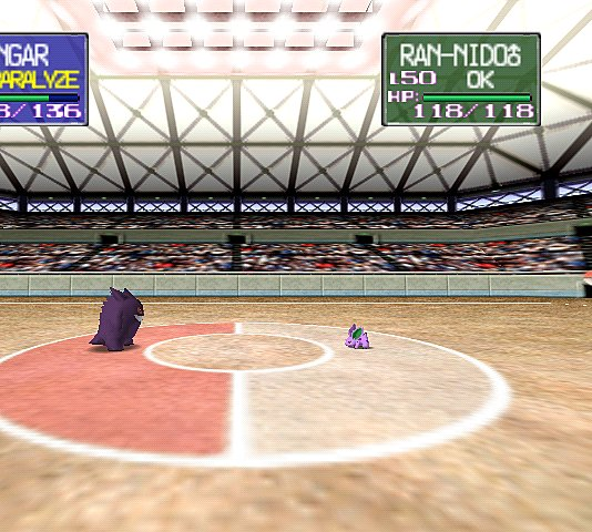 Pokemon Stadium - N64 Screen