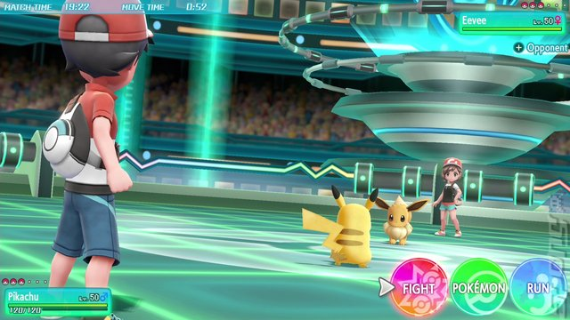 Pokémon: Let's Go, Pikachu! - Switch Screen