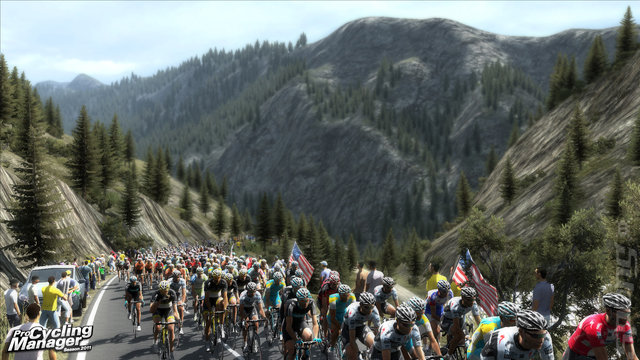 Pro Cycling Manager Tour De France 2011 - PC Screen