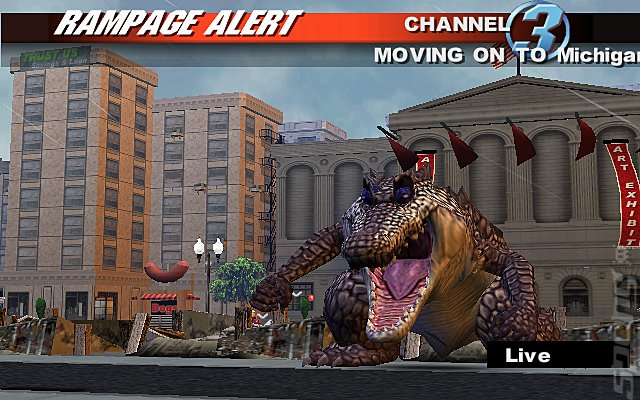 Screens Rampage Total Destruction Ps2 18 Of 34