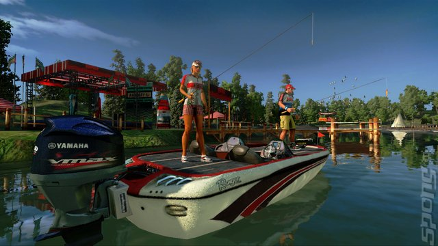 Rapala Pro Bass Fishing - Wii Screen