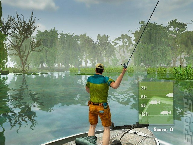 Screens rapala fishing frenzy 2009 wii 5 of 5 for Wii u fishing game