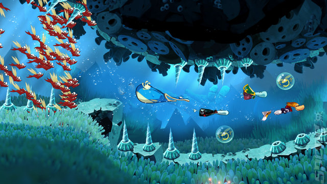 Rayman Origins - Wii Screen