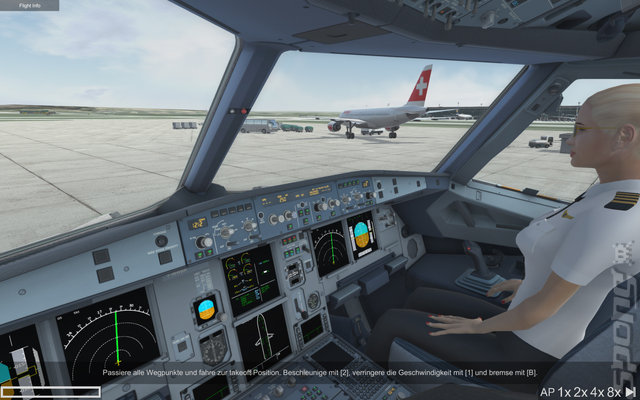 Ready for Take Off: A320 Simulator - PC Screen