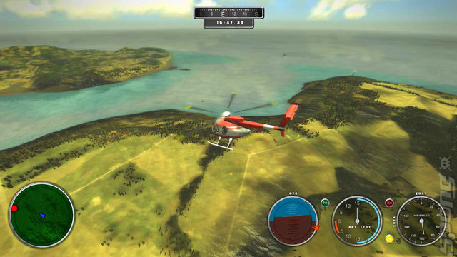 Rescue Helicopter Simulator 2014 - PC Screen