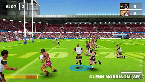 Rugby League Challenge - PSP Screen