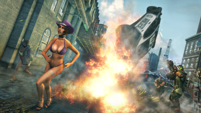 Saints Row: The Third: The Full Package - Switch Screen