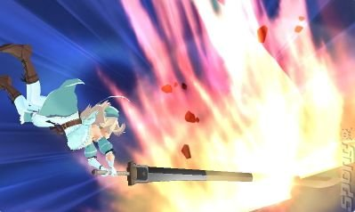 Senran Kagura Burst - 3DS/2DS Screen