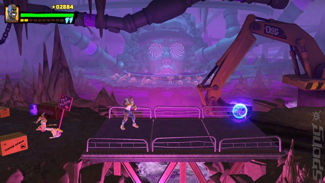 Shaq Fu: A Legend Reborn - Xbox One Screen