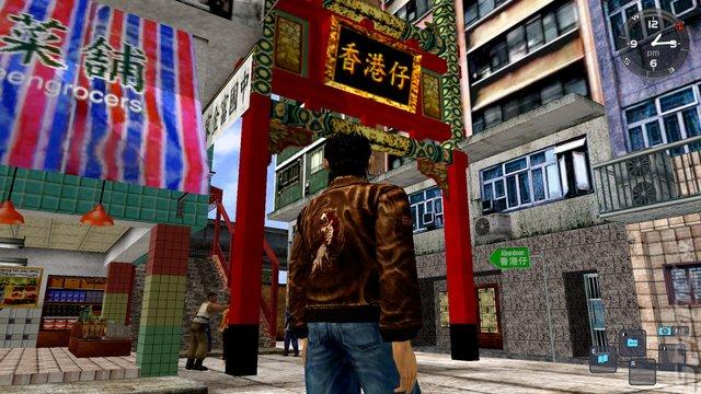 Shenmue I & II - Xbox One Screen
