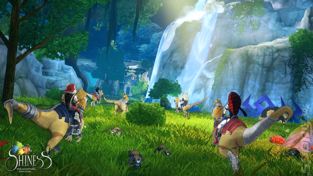 Shiness: The Lightning Kingdom Editorial image