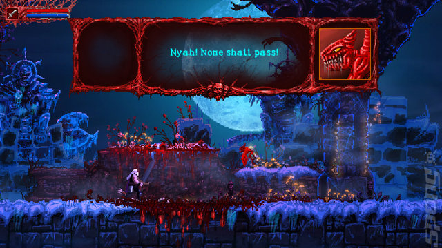Slain: Back From Hell - Switch Screen