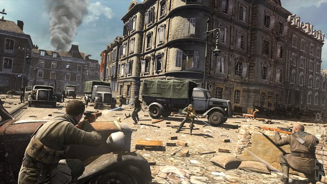 Sniper Elite V2 - PC Screen