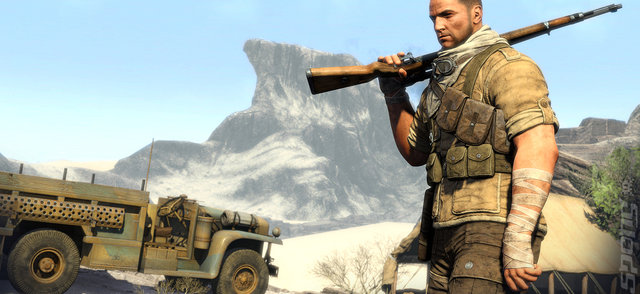 Sniper Elite III - PC Screen